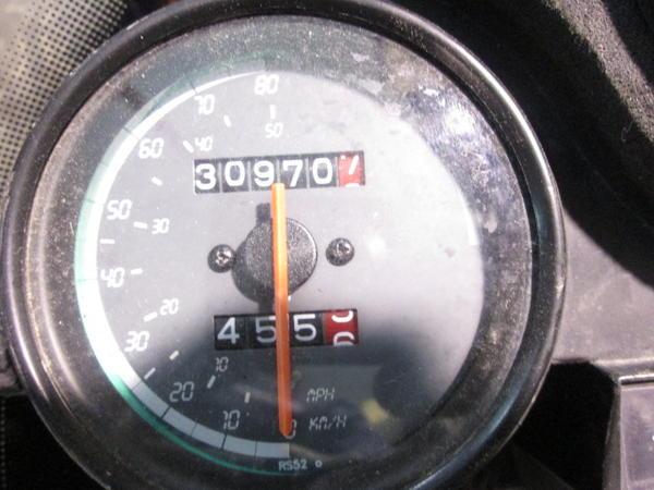 Marcador-velocímetro de una Aprilia RS Tuono 50 para su desguace