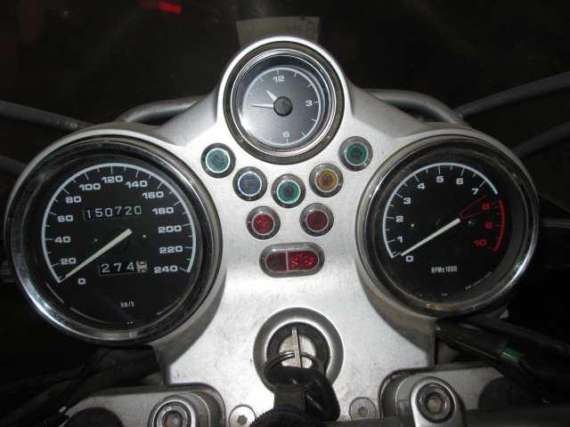 Marcador de una BMW 1150 del año 2001