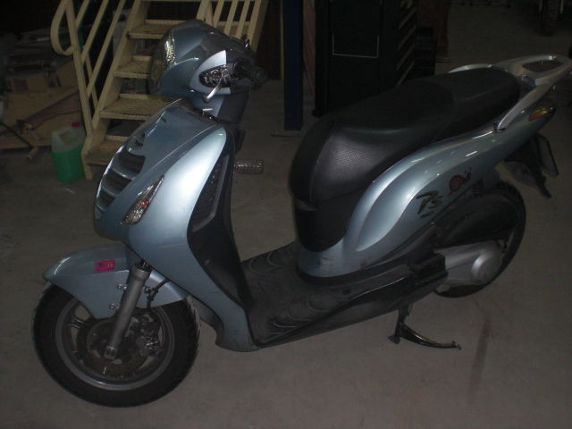 Honda PS 150 2007 left side