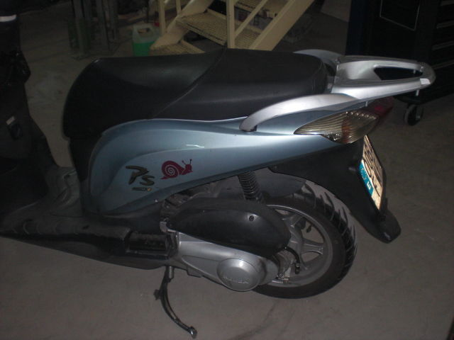 Honda PS 150 2007 rear side