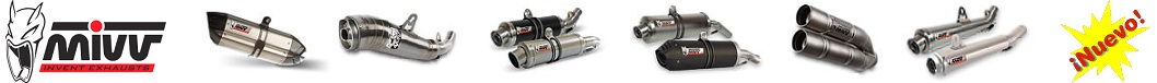 Mivv esxhaust for motorbike, we have the exhaust that your motorcycle need.