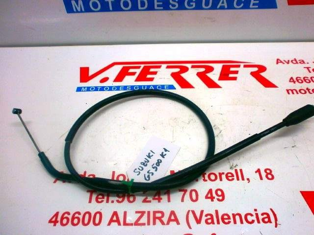 CLUTCH CABLE SUZUKI GS 500 with 83576 km.