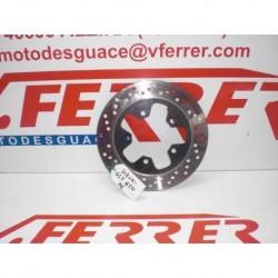 DISCO FRENO TRASERO de repuesto de una moto SUZUKI GSF 650 BANDIT 2006