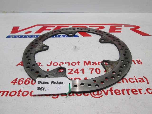 FRONT BRAKE DISC 2 of scrapping BMW 850R 2005