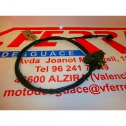 CABLE Y CIERRE SILLIN de repuesto de una moto YAMAHA NEOS YN 50 2001