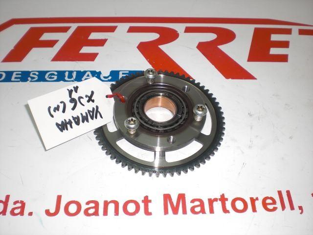 BENDIX ARRANQUE CON CORONA de repuesto de una moto YAMAHA XJ6 2012