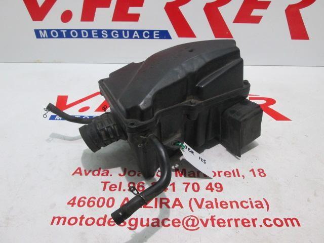 AIR FILTER BOX of scrapping YAMAHA YBR 125 2005