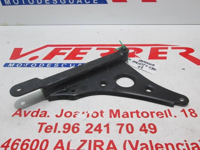 BRACKET REAR HUB scrapping a YAMAHA MAJESTY 150 2002