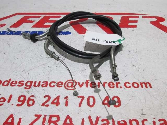 CABLE ACELERADOR de repuesto de una moto YAMAHA YBR 125 2011