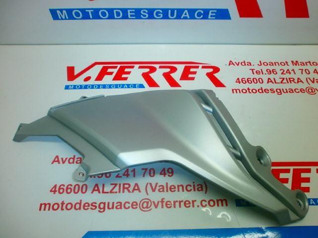 TAPA LATERAL DERECHA de repuesto de una moto APRILIA MANA 850 2007-2010