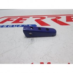 BLUE RIGHT FOOTREST of scrapping a DERBI SENDA