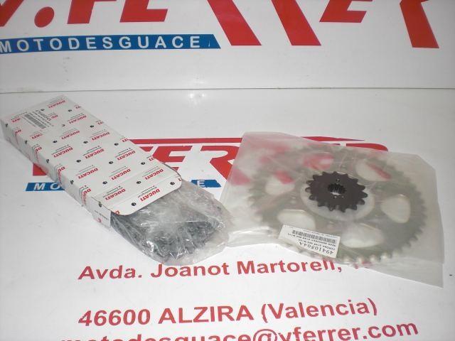 TRANSMISSION KIT 15-46Z of DUCATI MONSTER 600