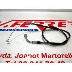 CABLE ACELERADOR 1 de repuesto de una moto HONDA VT 600 SHADOW 90-96 / NV 400-6