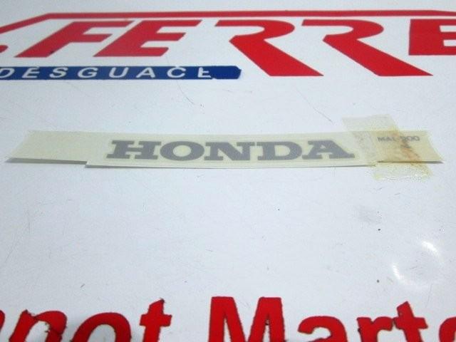 ADHESIVE scrapping a HONDA CBR 600 F
