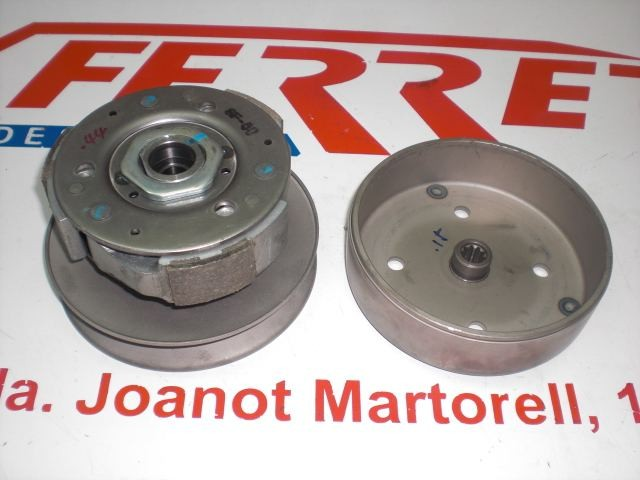 COMPLETE CLUTCH PULLEY Hyosung SF