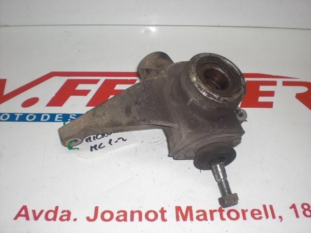 MANGUETA DERECHA de repuesto de una moto MICROCAR MC 2 2006