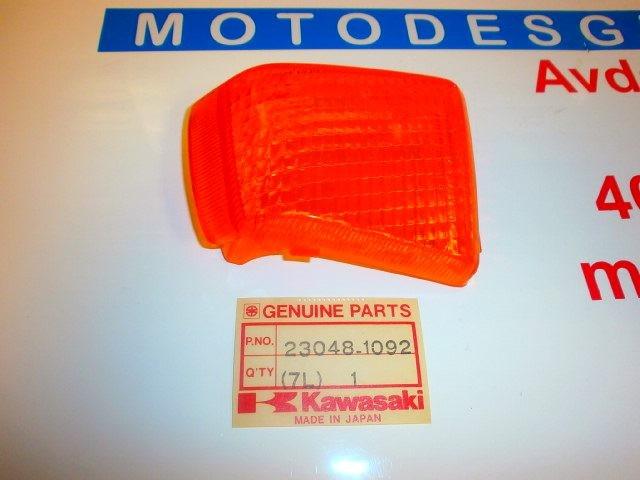 CRISTAL INTERMITENTE TRASERO DERECH de repuesto de una moto KAWASAKI ZX 1000 1988-1990