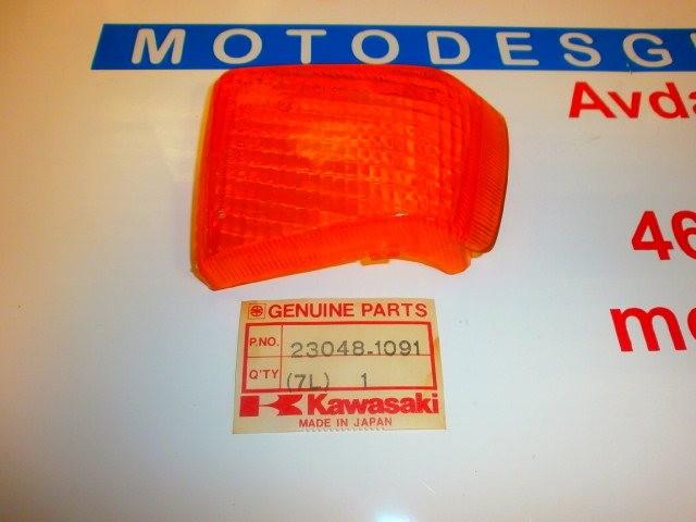 CRISTAL INTERMITENTE TRASERO IZQUIE de repuesto de una moto KAWASAKI ZX 1000 1988-1990
