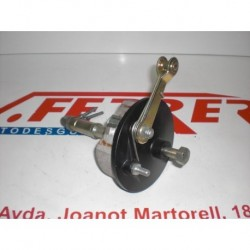 COMPLETE BRAKE DRUM REAR AXLE WITH SEVERAL of