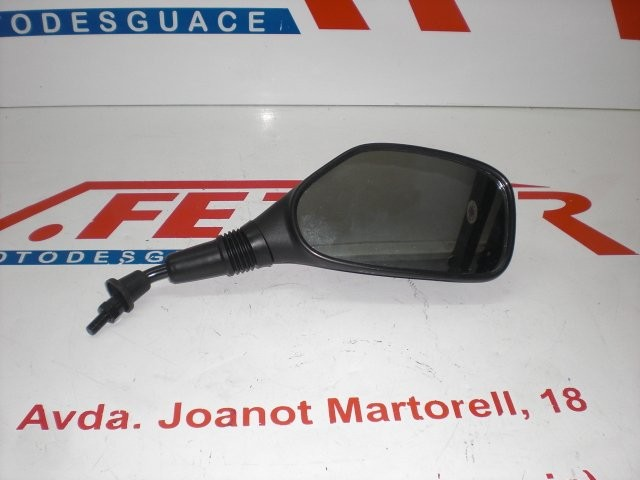 ESPEJO DERECHO 8MM ROSCA D de repuesto para varios modelos de moto