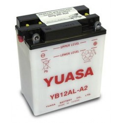 Bateria para moto o ciclomotor marca YUASA modelo YB12AL-A2 de 12v 12Ah