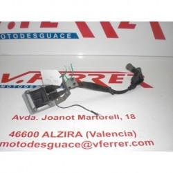 BOBINA DE ALTA CON PIPAS de repuesto de una moto GILERA FUOCO 500 en el 2008