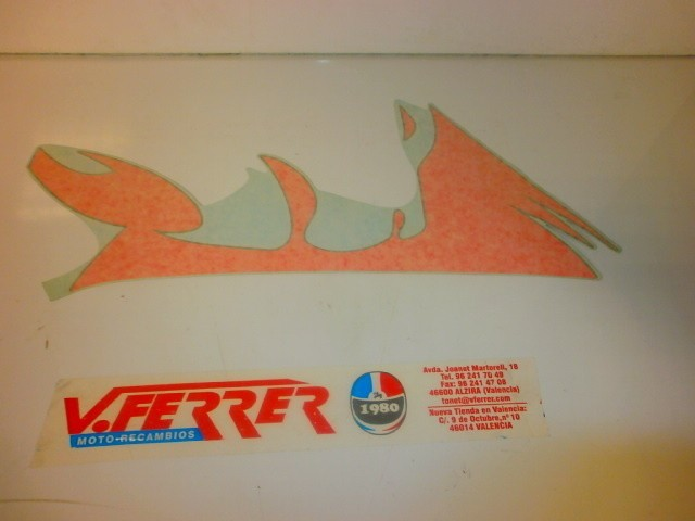 ADHESIVE RIGHT FRONT APRILIA SR 50 a