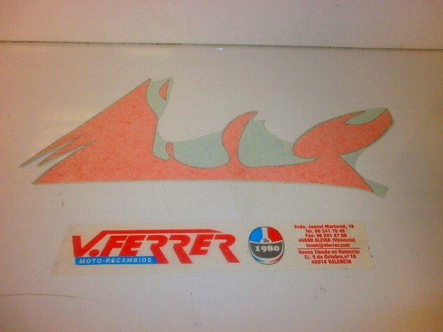 LABEL LEFT FRONT APRILIA SR 50 a