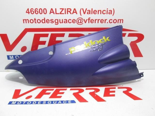 LEFT SIDE COVER scrapping DERBI PADDOCK