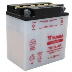 Bateria para moto o ciclomotor marca YUASA modelo YB10L-BP de 12v 12Ah