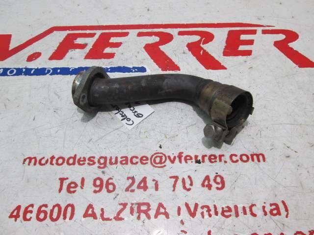 Colector escape 1 de repuesto de una moto Gilera GP800 del año 2010