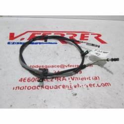 Cable freno mano trasero de repuesto de una moto Honda FJS 400 Silver Wing del año 2012