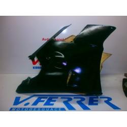 CARENADO FIBRA de repuesto de una moto APRILIA RS 125 1995