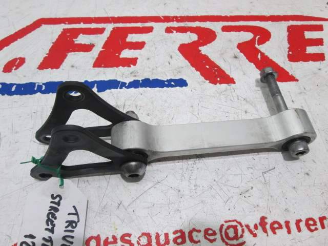 Juego bieletas amortiguador trasero de repuesto de la moto Triumph Street Tripe 675 del año 2012