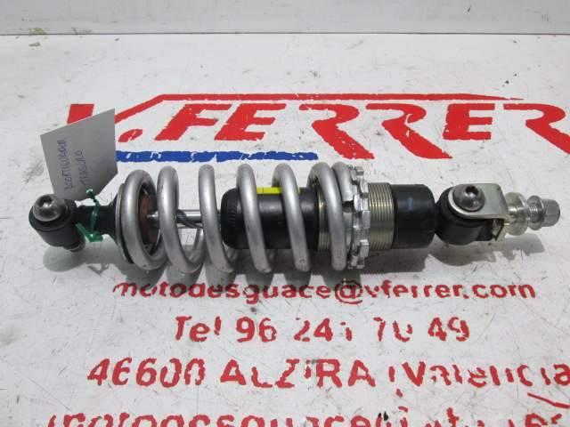 Amortiguador trasero de repuesto de la moto Triumph Street Tripe 675 del año 2012