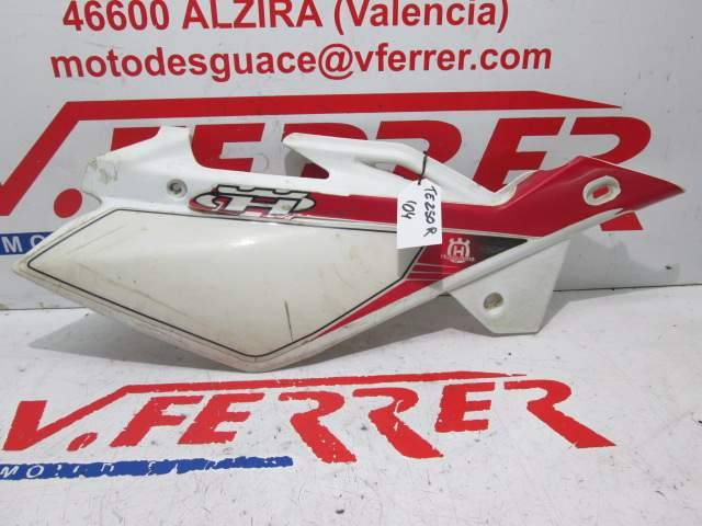 Motorcycle HUSQVARNA TE 250 R 2004 Right Side Rear Cover Replacement