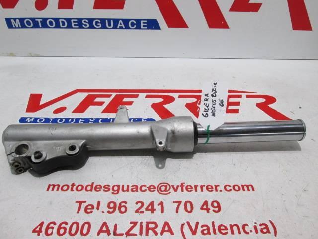 BARRA HORQUILLA DELANTERA DERECHA de repuesto de una moto GILERTA NEXUS 250 2006