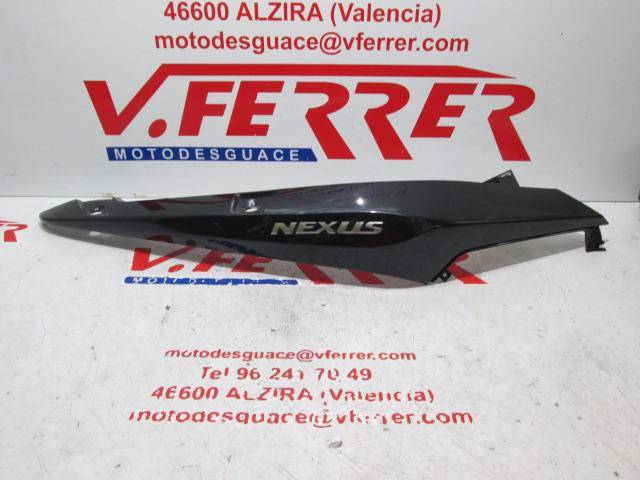 Motorcycle GILERA NEXUS 250 2008 Right Side Rear Cover Replacement