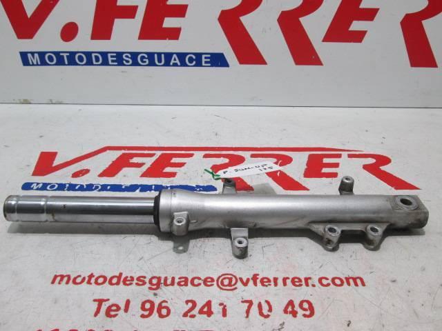 Barra horquilla delantera izquierda de repuesto de una PEUGEOT SUM UP 125 del año 2011