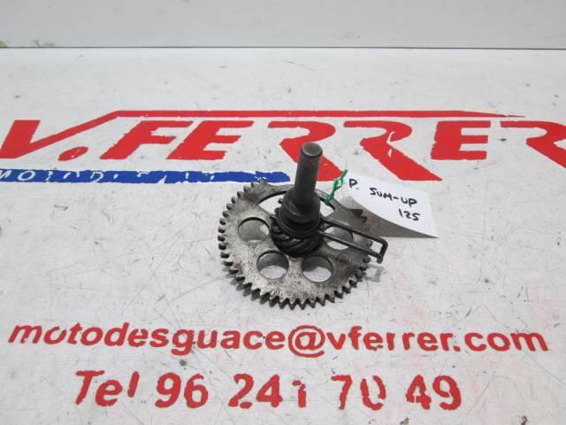 Corona arranque a pedal de repuesto de una PEUGEOT SUM UP 125 del año 2011