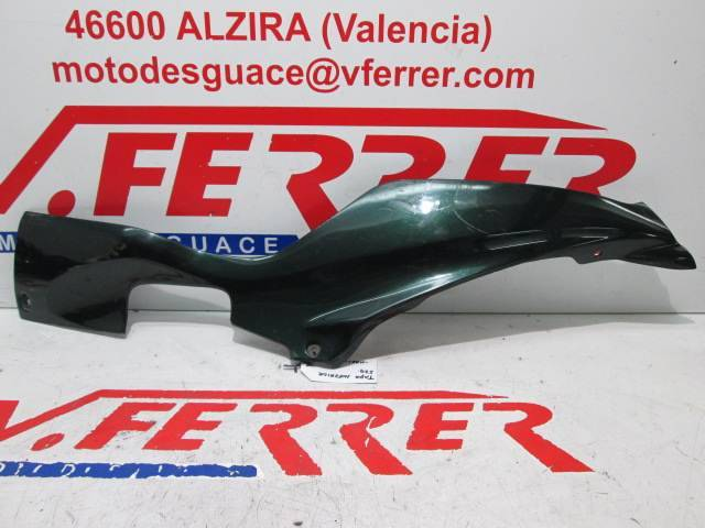 Motorcycle SUZUKI EPICURO 125 2000 Left Lower Cover Replacement