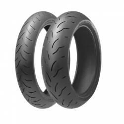 SET 120/190-55 TIRES BRIDGESTONE BATTLAX BT016 PRO Used Tires