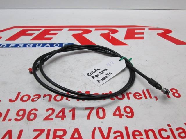 CABLE APERTURA ASIENTO de repuesto de una moto GILERTA FUOCO 500 2008.