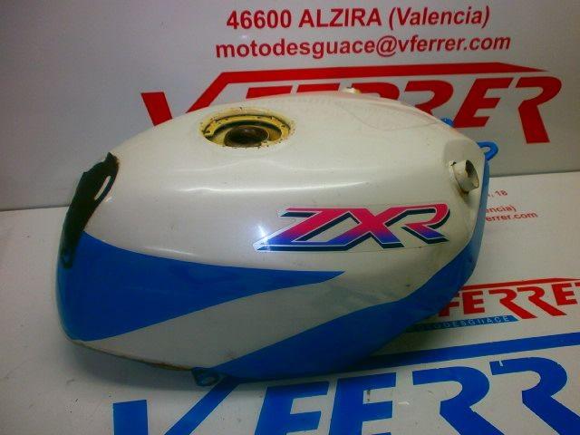 FUEL TANK KAWASAKI ZX 750 R with 55908 km.