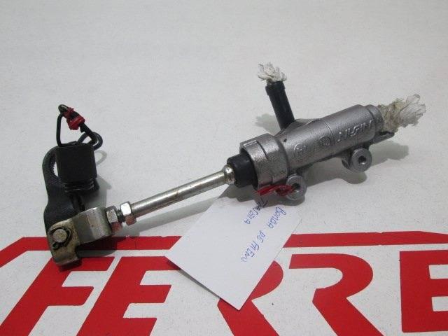 Bomba freno trasero de repuesto de una moto Honda Transalp 700 del año 2007