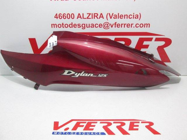 Motorcycle Honda Dylan 125 2006 Leftside Lower Cover Replacement