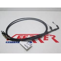 Cables acelerador de repuesto de una moto Kymco KXCT 125 del año 2014