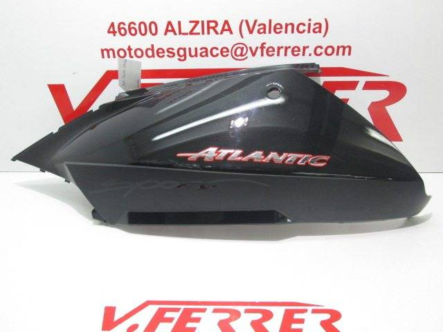 Motorcycle Aprilia Atlantic 300 2012 Leftside Lower Cover Replacement