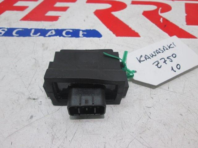 CDI FUEL INJECTION scrapping a KAWASAKI Z 750 2010