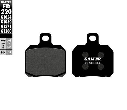 BRAKE PAD SET GALFER FD138-G1054